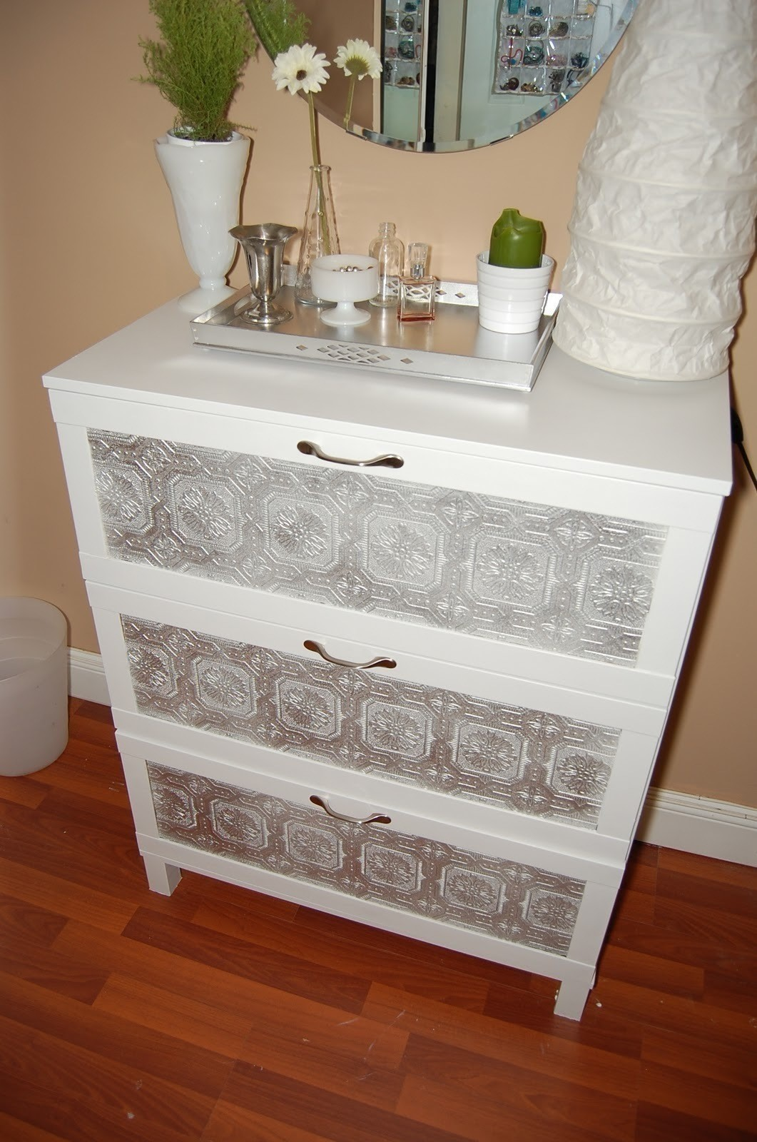 Ikea Dresser Hack  A Drawer  Decorating on Cut Out  Keep  Creation by Amber W