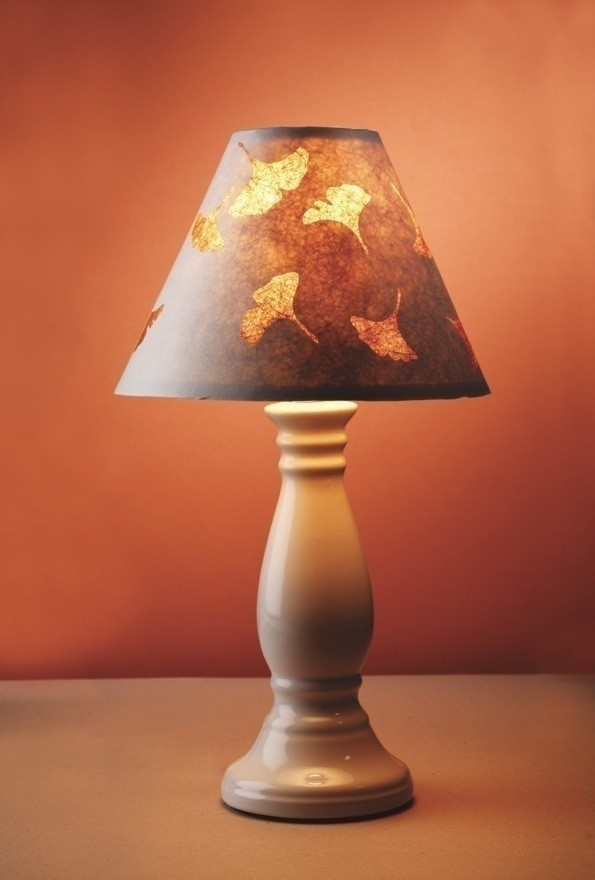 Ginkgo Leaf Lampshade Extract From Paper Cuts By Taylor