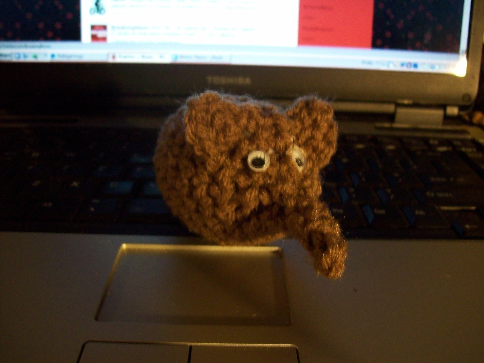Crochted Niffler A Plushies Amp Friends Crochet On Cut Out Keep