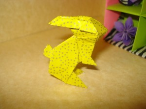 Origami Bunny =D Yay! · How To Fold An Origami Rabbit