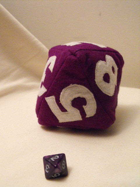 Dungeon And Dragons Baby Dice  Dice  Sewing on Cut Out  Keep
