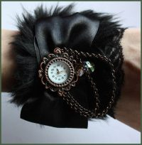 Fur Watches  A Watch  Jewelry Making and Sewing on Cut ...