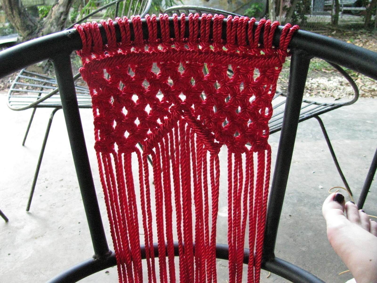 fishing chairs office chair heating pad macramé · how to make a knotting & macrame on cut out + keep by j0