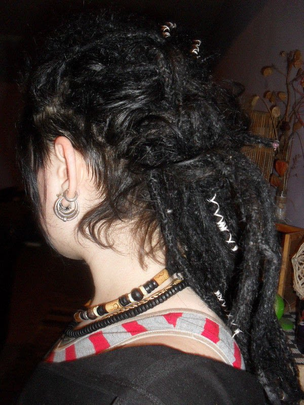 Decorating Dreads With Embroidery Floss  How To Make A Dreadlock  Fall  Hair Styling and