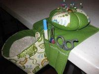 Thread Catcher, Caddy And Pincushion  A Pin Cushions ...