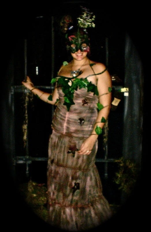 Mother Earth Costume  A Masquerade  Decorating on Cut