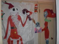 Nightmare Before Christmas Christmas Door Decoration ...