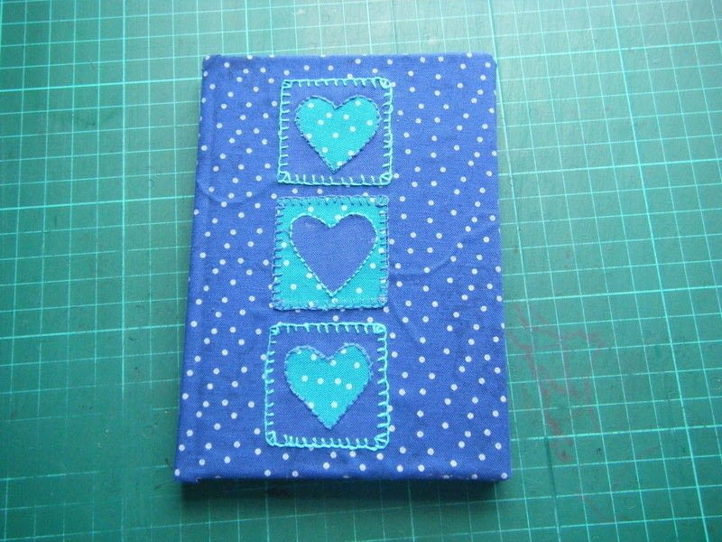 Fabric Covered Notebook  How To Make A Fabric Book Cover