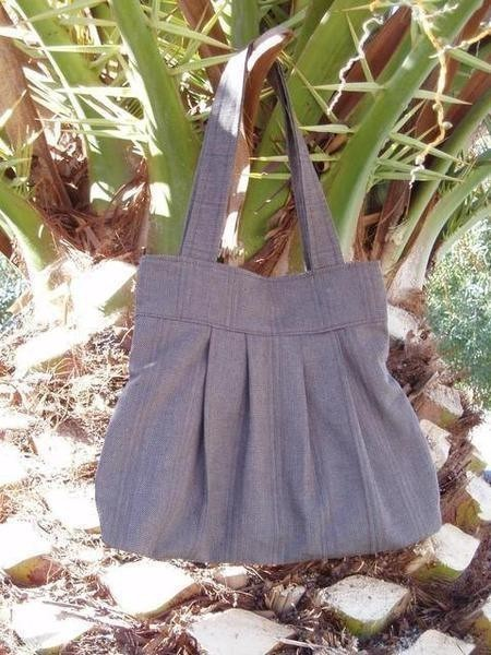 Pennys Tote A Pleated Tote Sewing On Cut Out Keep