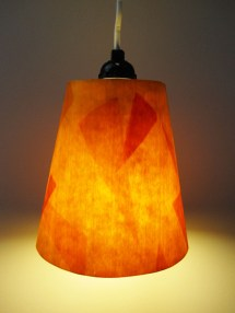 Dyed Wood Veneer Lamp Trio Make