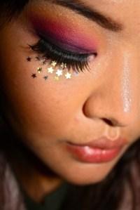 Sunset Inspired Eyeshadow  A Sunburst Eye  MakeUp ...
