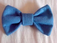 Pretty Felt Bow :)  How To Make A Hair Bow  Jewelry ...