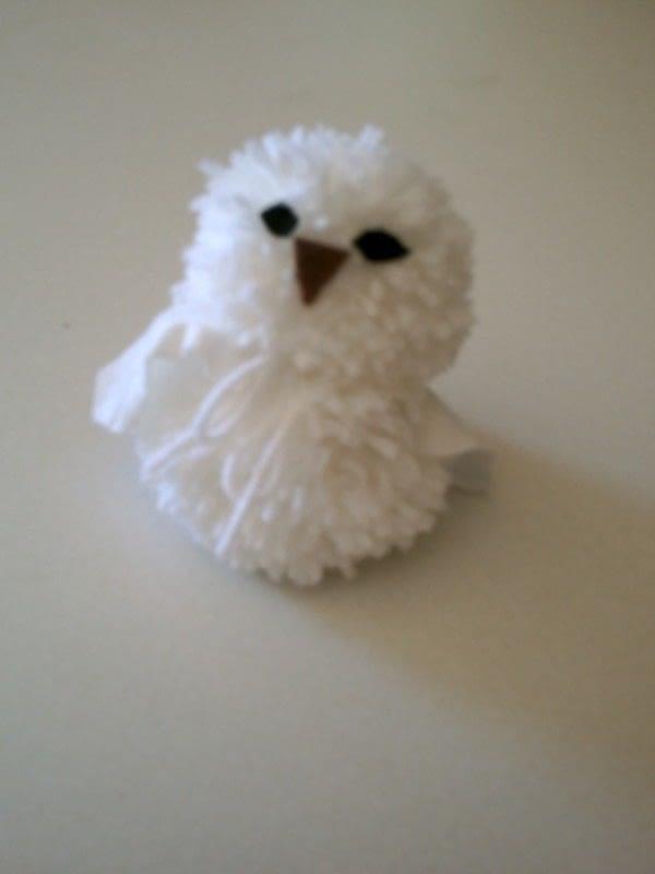 Pom Pom Owl  How To Make A Bird Plushie  Yarn Craft on