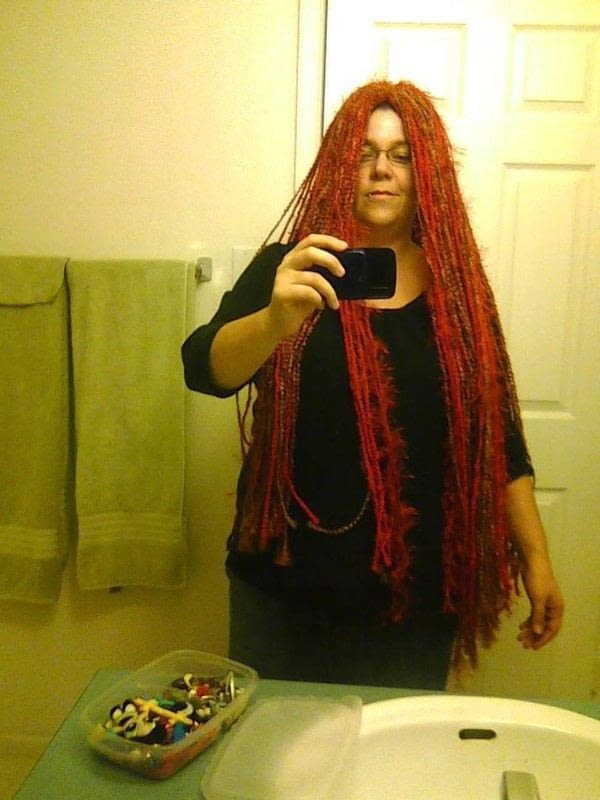Sally Rag Doll Wig  How To Make A Wig  Yarn Craft on