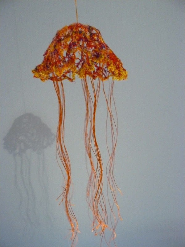 Jellyfish   A Model Or Sculpture  Construction and Decorating on Cut Out  Keep
