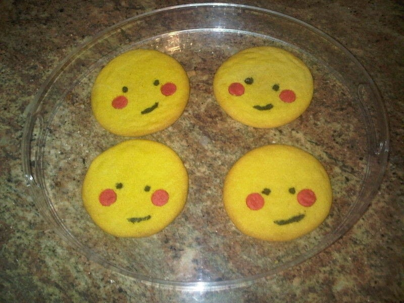 Ni Hao Kai Lan Sun Cookie A Character Cake Food Decoration On Cut Out Keep