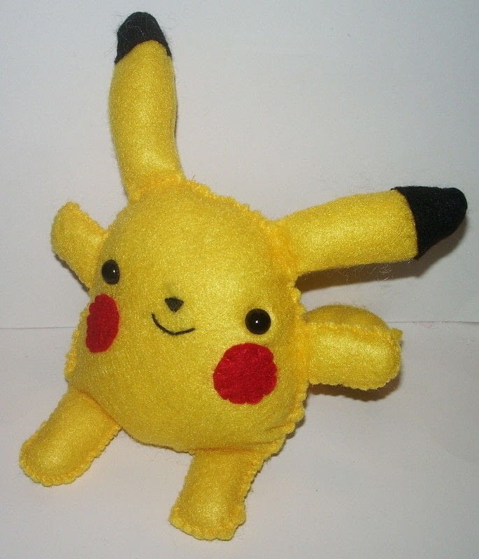 Images Of Cute Dolls Wallpaper Pikachu Plushie 183 A Pokemon Plushie 183 Sewing On Cut Out