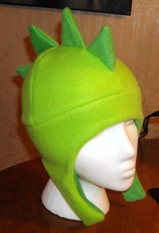 Fun Fleece Hats  An Animal Hat  Sewing on Cut Out  Keep