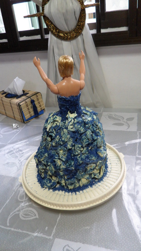Drag Queen Birthday Cake 183 A Doll Cake 183 Construction And