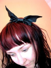 Cute Bat In Your Hair  How To Make A Hairband / Headband ...