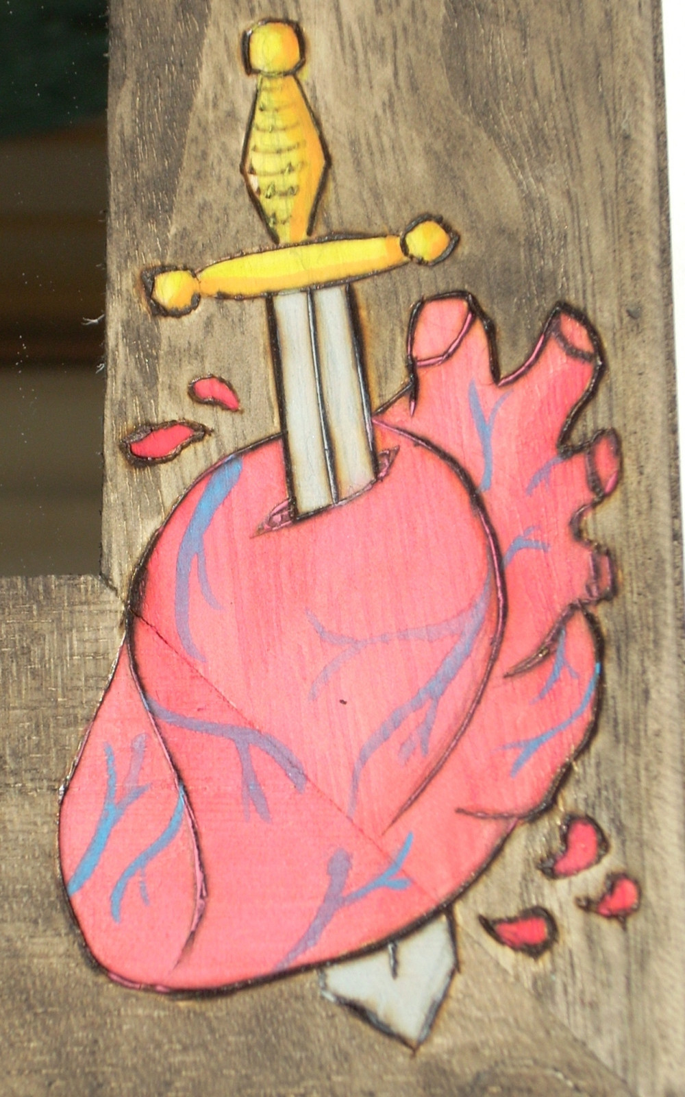 Snow White Haunted Mirror 183 A Wall Mirror 183 Drawing