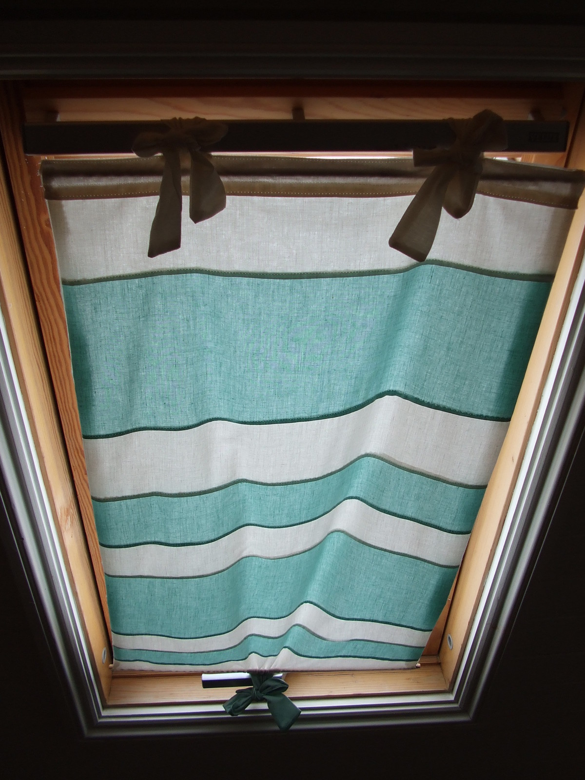 Skylight Blind  How To Make A CurtainBlinds  Sewing on