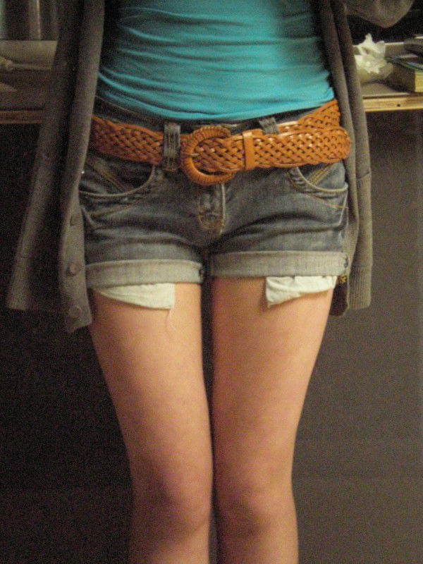 Peek A Boo Pocket S Shorts 183 How To Make A Pair Of Denim
