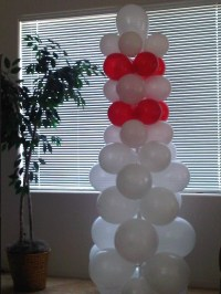 Bowling Pin Balloon  A Party Balloon  Decorating on ...