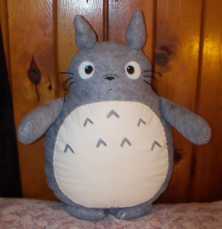 Totoro Plushie  How To Make A Tooth Plushie  Sewing on