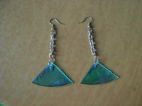 Swingy Cd Earrings  How To Make A Pair Of Cd Earrings ...