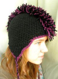 Crochet Mohawk Hat  A Mohawk Hat  Crochet on Cut Out ...