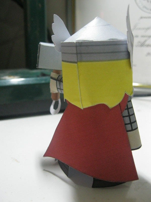 Thor Papercraft  How To Fold An Origami Character