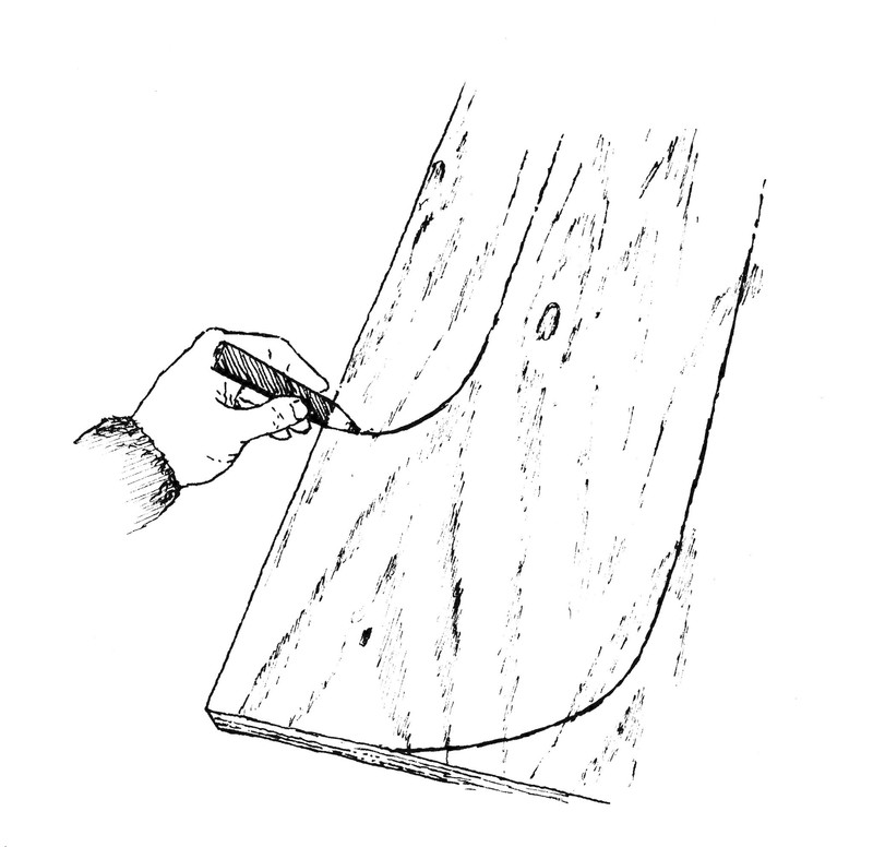 Sun Lounger · Extract from Woodworking for the Weekend by