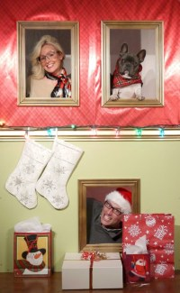Diy Holiday Photo Wall / Photo Booth  How To Make A ...