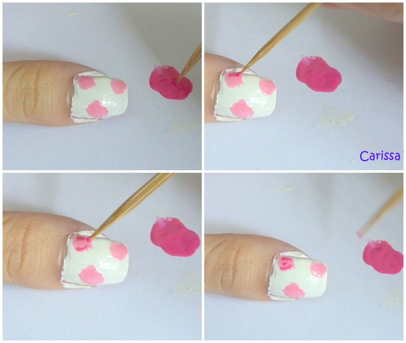 Fl Nail Art How To Paint Patterned Beauty On