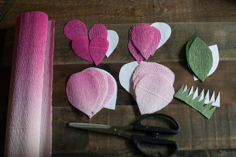 paper flower cut out patterns