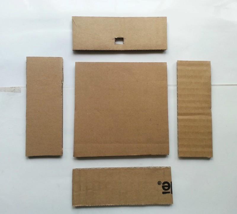 Diy Cardboard Lamp Shade  How To Make A Lamp / Lampshade