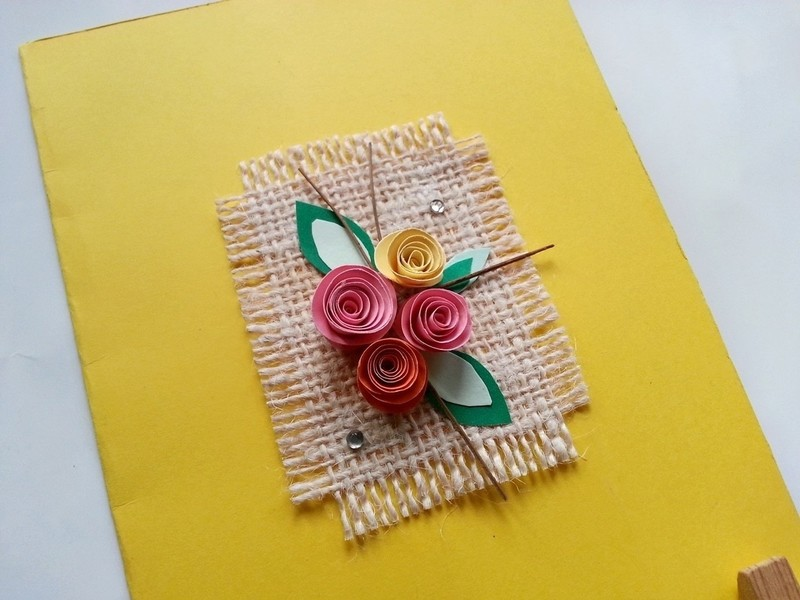 Diy Floral Greeting Card How To Make A Quilled Greetings