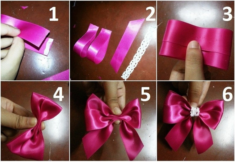 Diy Hair Bows 3 Ribbons How To Make A Ribbon Hair Bow