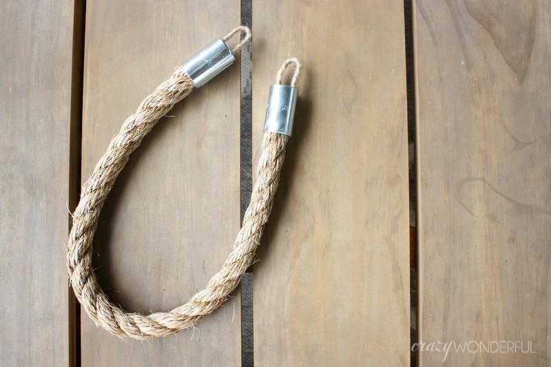 DIY Rope Tiebacks How To Make A Set Of Curtain Tie Backs Home