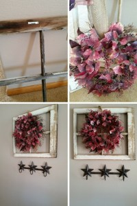 Simple & Easy Old Window Decor  How To Make A Branch ...