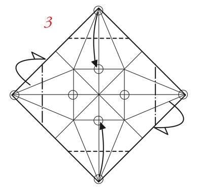 Pyramid Box Base · Extract from Tomoko Fuse's Origami