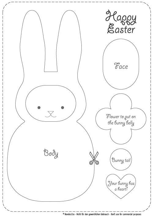 Revoluzzzionary Easter Bunny · How To Make Rabbit Plushie