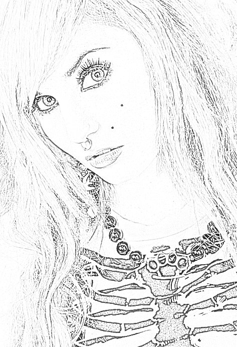 Amature Self Portrait · How To Create A Portrait · Drawing