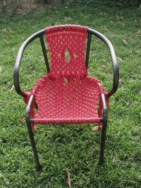 Macram Chair  How To Make A Chair  Knotting & Macrame ...