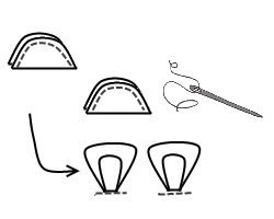 Sock Monkey · How To Make A Monkey Plushie · Sewing on Cut