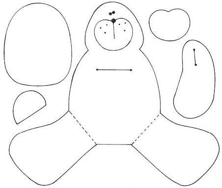 Easy Teddy Bear ( Oso De Peluche Facil ) · How To Make A
