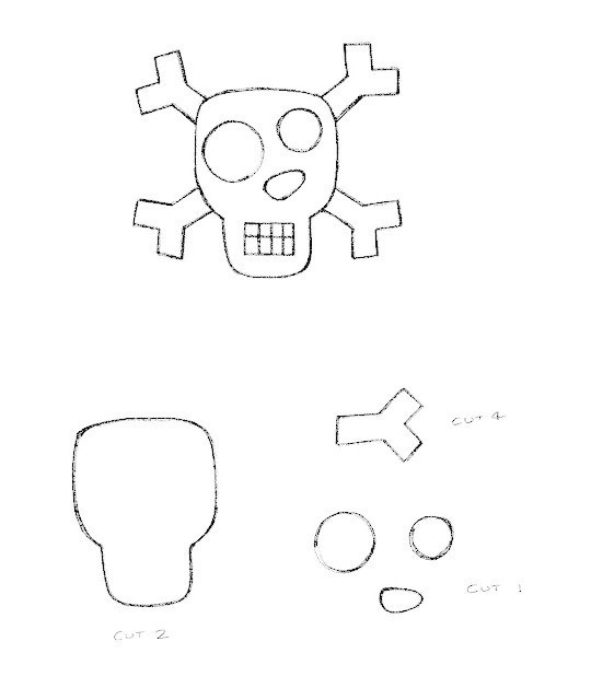 Skull Book Marks · How To Make A Bookmark · Sewing on Cut
