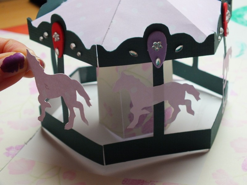 Carousel Pop Up Card How To Make A Pop Up Card