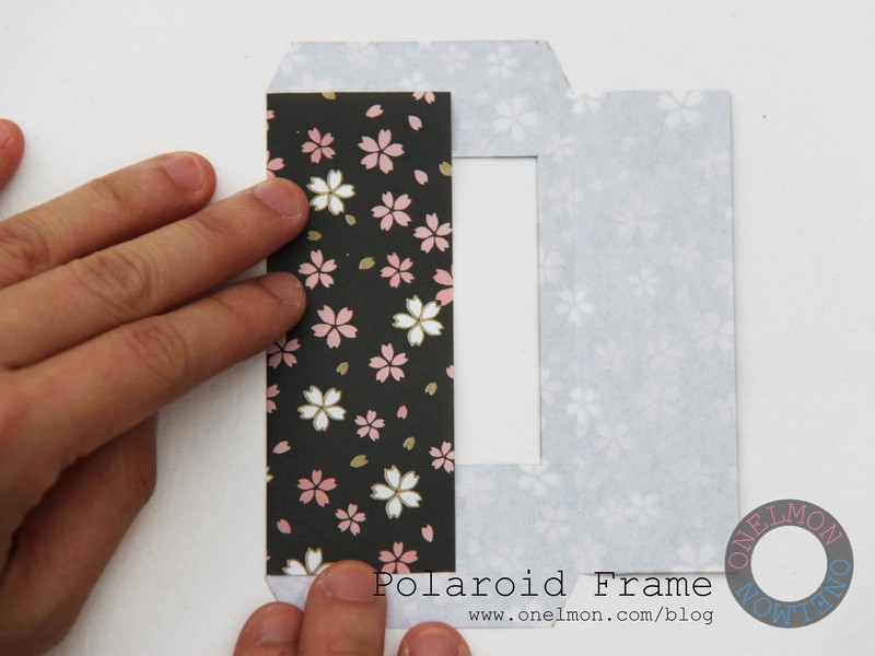 hanging chair frame corporate massage polaroid · how to make a / photo holder papercraft on cut out + keep